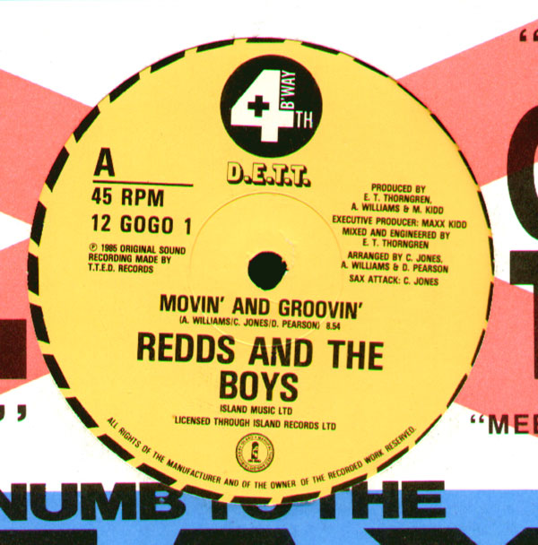 Redds &amp; The Boys - Movin' And Groovin'