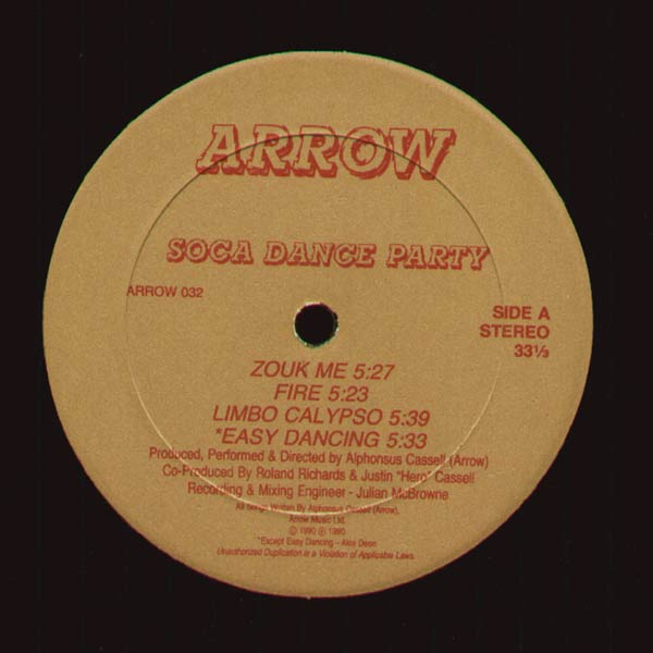 Soca Dance Party - ARROW