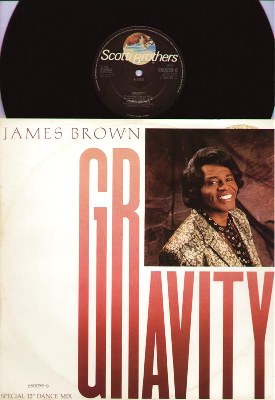 James Brown - Gravity EP