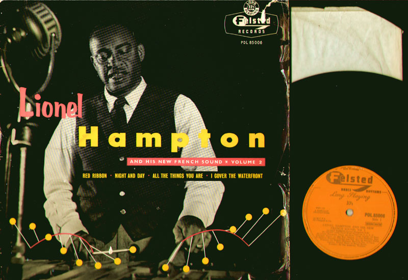 Lionel Hampton - Lionel Hampton And His New French Sound Vol. 2