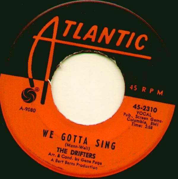 Drifters - We Gotta Sing