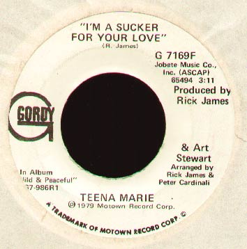 Teena Marie - I'm A Sucker For Your Love (demo)