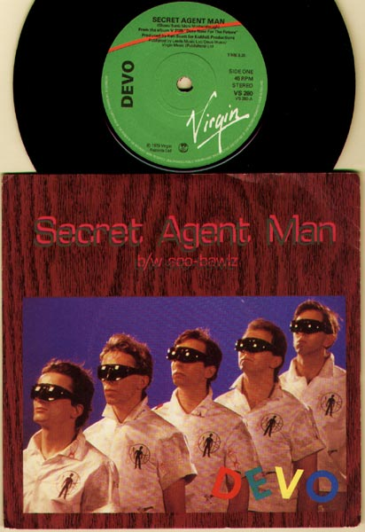 Devo - Secret Agent Man