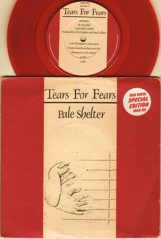 Tears For Fears - Pale Shelter LP