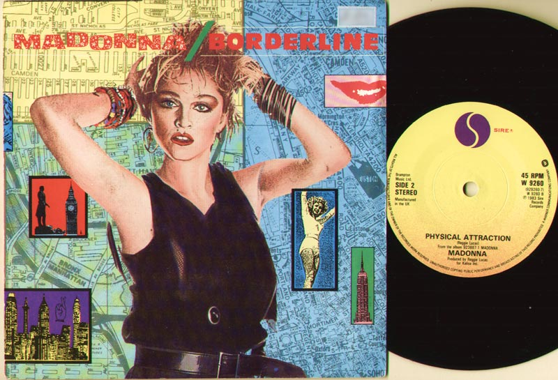 Madonna - Borderline LP