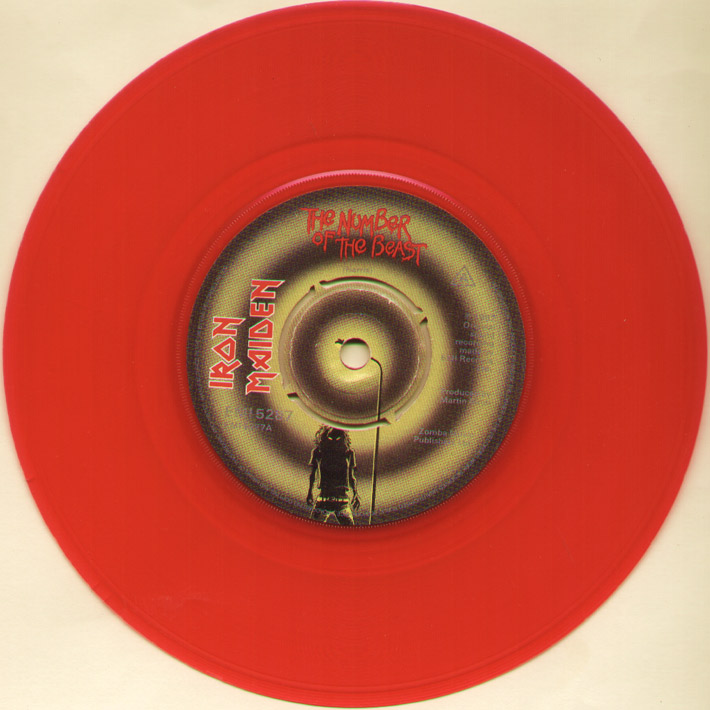 Iron Maiden - The Number Of The Beast (red Vinyl)