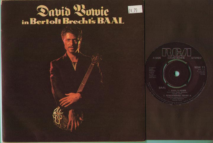 David Bowie - Baal's Hymn/remembering Marie A