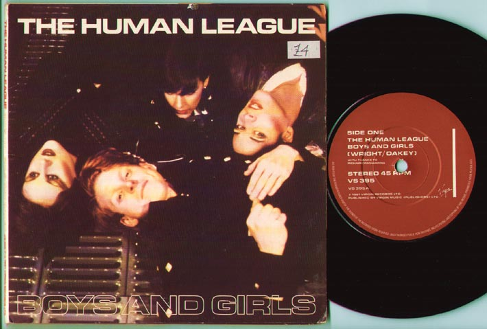 Human League - Boys And Girls Album